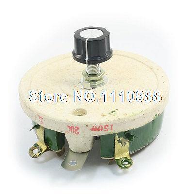 Wirewound Linear Rotary Resistor 150W 200 Ohm Ceramic Disk Rheostat 50w 1k ohm ceramic wirewound potentiometer volume control disk rheostat
