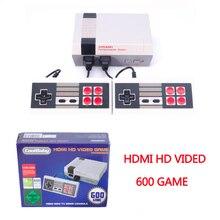 HDMI Classique Mini TV Console de Jeu en HDMI 8 Peu Rétro Vidéo Console de Jeu Intégré 600 Jeux de Jeu De Poche Lecteur(China)