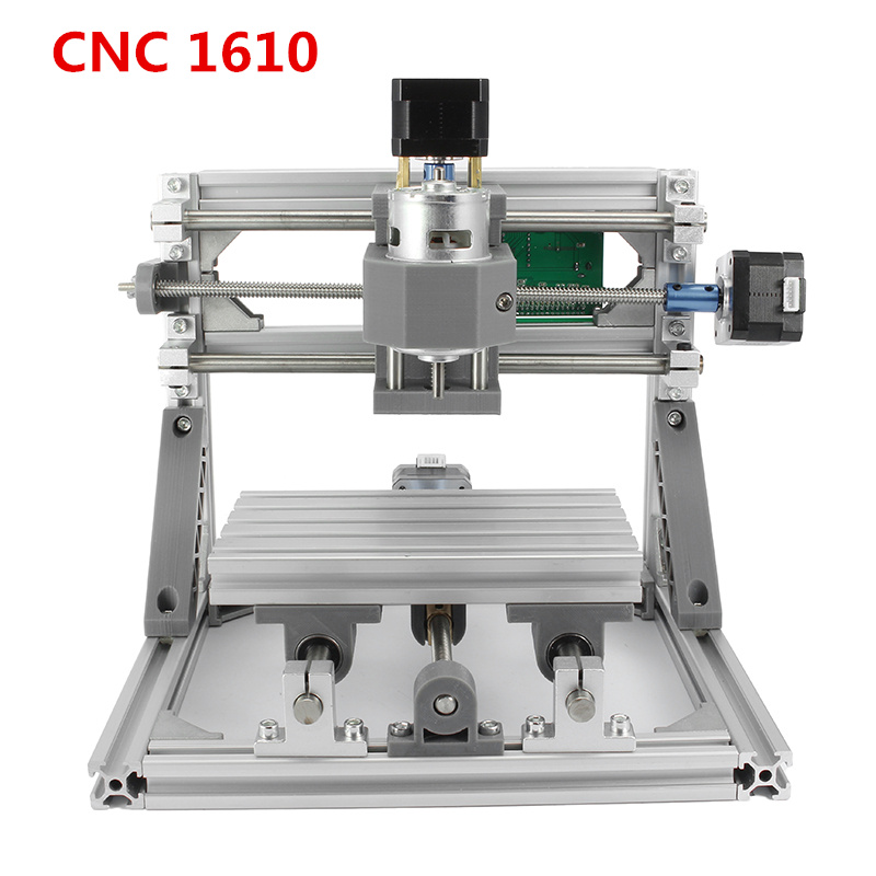 DIY CNC 1610 GRBL Control Mini CNC Machine Working Area 16x10x4.5cm 3 Axis PCB Milling Machine Wood Router 1610 grbl control diy mini cnc machine working area 160x100x45mm 3 axis pcb milling machine wood router cnc router v2 4