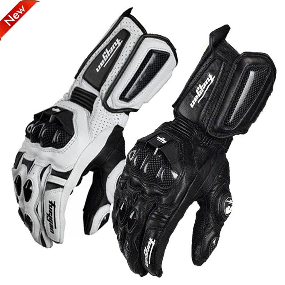 Furygan afs 10 gants en fiber de carbone cuir moto cyclisme chevalier longue section gants locomotive Anti-chute