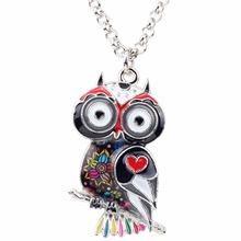 Floral Owl Shaped Girl's Pendants