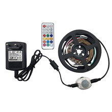 LED 1M Full Color Sensing Smart Home Light strips RF Remote Control WS2812 30/60/144LEDs Ambiance light IP65 Waterproof