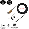 7MM Lens 10M  Micro USB Endoscope Android Snake Smartphone Camera Waterproof Inspection Borescope  PC OTG /UVC with 6pcs Led