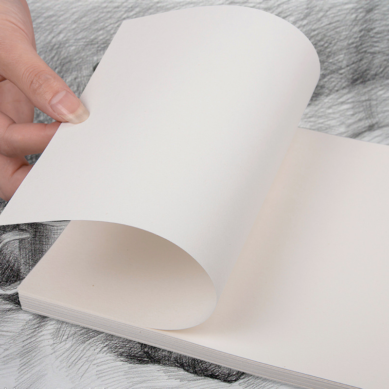 YDNZC High Quality Artist Sketch Paper 4K/8K/16K 1 Set Of 50 Sheets Art Drawing Watercolor Paper Gouache Paperh Art Supplies