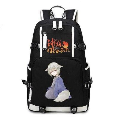 Kamisama baiser Tomoe sac à dos Cosplay Kamisama amour toile sac cartable sacs de voyage