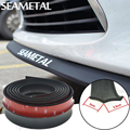 2.5M/ Roll 6.5cm Width Car styling TPVC Lip Skirt Protector Car Scratch Resistant Rubber Bumpers  Decorate High qaulity