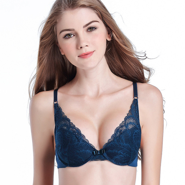 Womens Push Up Bras and Underwear sets