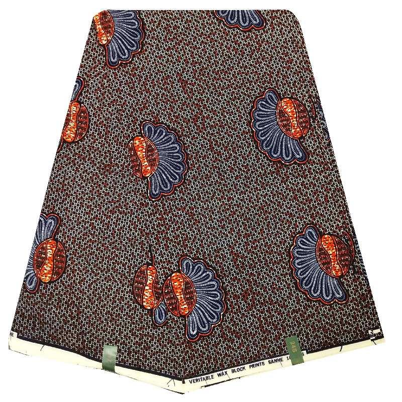 Impresión de cera de tela de algodón africanos por yarda Nuevo Diseño Hermoso Superior ANKARA