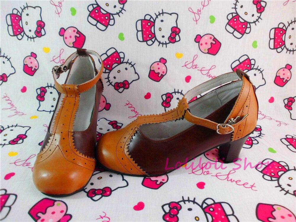 Princess sweet lolita shoes Loliloliyoyo antaina gothic Japanese design cos shoes custom double colour lolita 5247xPrincess sweet lolita shoes Loliloliyoyo antaina gothic Japanese design cos shoes custom double colour lolita 5247x