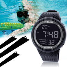Hot 100M Waterproof Digital Sports Watch