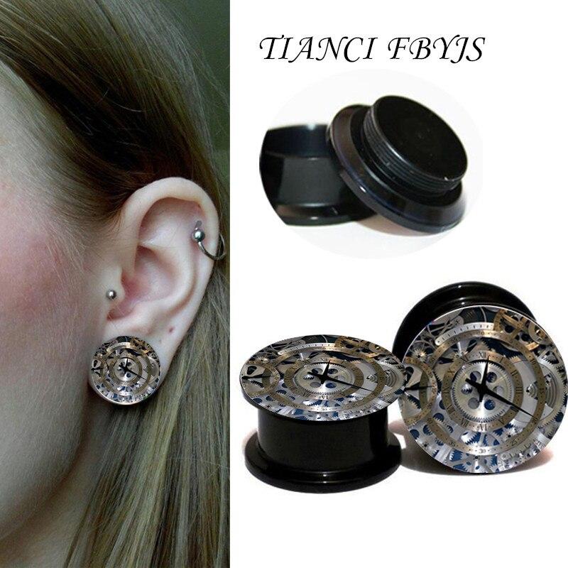 Tianci Fbyjs Clock Plugs And Tunnels Ear Plugs Ear Plug -6531