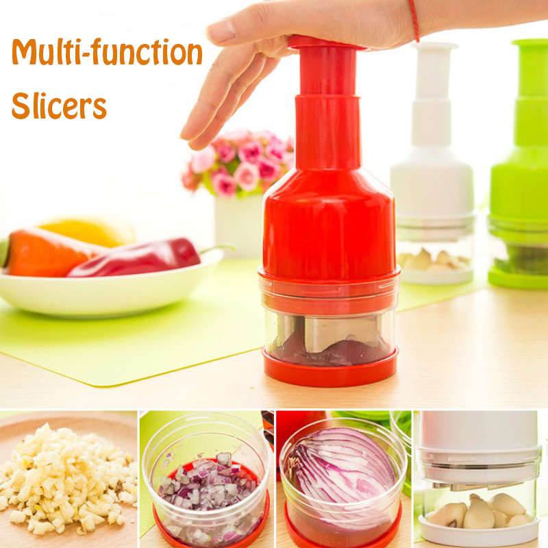 Easy To Clean Universal Kitchen Cooking Tools Pepper Potatoes Tomato Onion Slicer Roto Chopper Vegetables Fruits Salad Cutter In Garlic Presses From Home