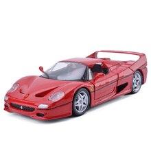 Bburago F50 1:24 Сплава Модели Автомобиля Toys Diecasts и Toy Транспорт Коллекция Дети Toys Подарок