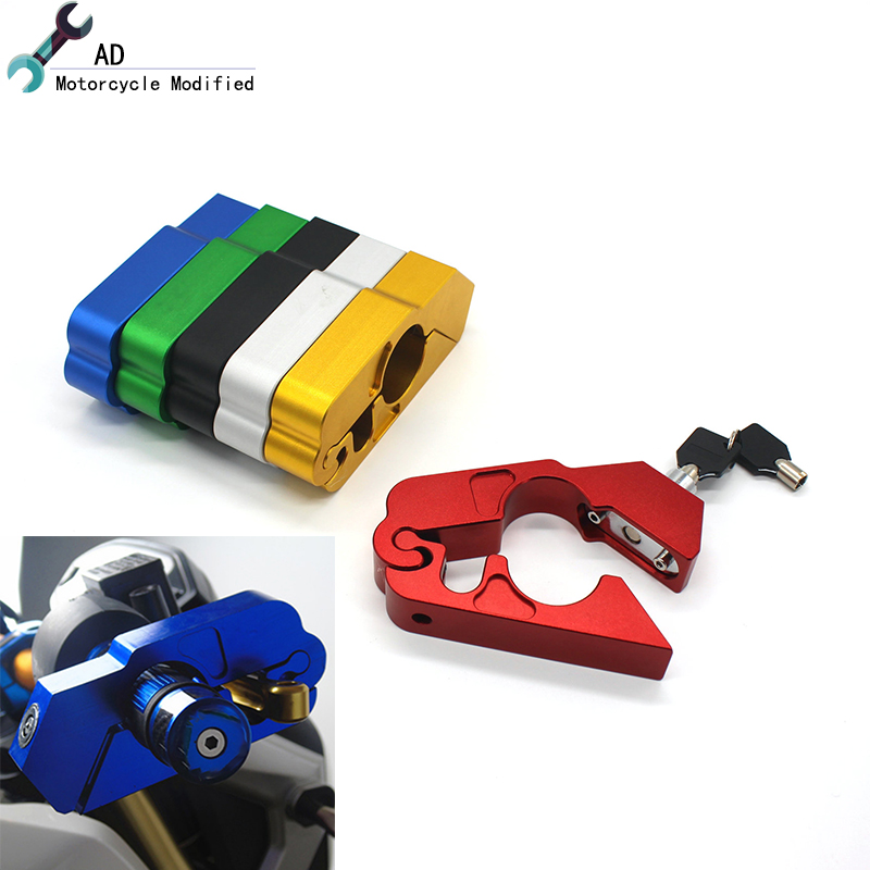 For Honda Piaggio Vespa Scooter Handlebar Lock Brake Clutch Security Safety Moto Theft Protection Locks Motorcycle Accessories(China)