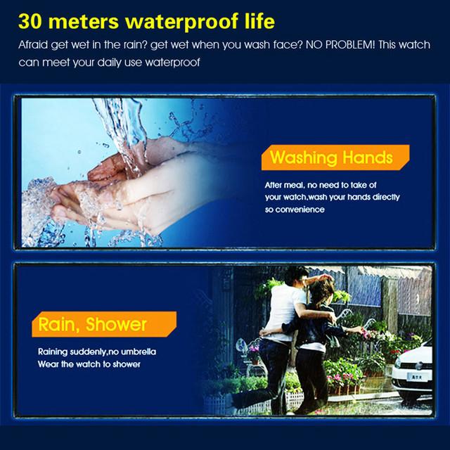 New Men Sports Watches Waterproof Outdoor Fun Multifunction Digital Watch Swimming Running LED Wristwatch Montre Homme