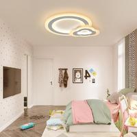 Светодиодная лампа потолка современный простой облако Творческий детская комната лампы для мальчиков и девочек гостиной спальня книга ном