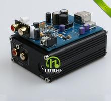 HIFI USB Decoder External ESS ES9018K2M + AD823 + SA9023 USB DAC Decoder External Sound Card Headphone Amplifier Free shipping