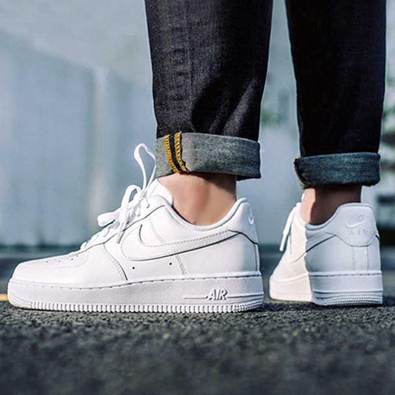 Original Official Nike AIR FORCE 1 AF1 Men Breathable