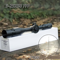 Carl Zeiss Conquest Z1000 5 25X50 FFP Hunting Scopes First Focal Plane Reticle Tactical Riflescope With Red/Green Illuminated