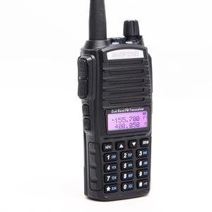 Image 3 - 2Pcs Baofeng UV 82 5W Portable UV82 Walkie Talkie Dual Band 2 PTT VHF UHF  UV 82 Ham Amateur Radio Transceiver + NA 771 Antenna