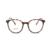2017 homens óculos de prescrição de óculos ópticos óculos de armação de computador coreano limpar rodada do vintage óculos mulheres optical 2650
