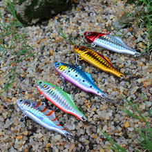 5PCS Metal Lures VIB Spoon Baits for Winter Ice Fishing Hard Bait Isca Artificial Pesca Jerkbait Fishing tackle peche H150164D