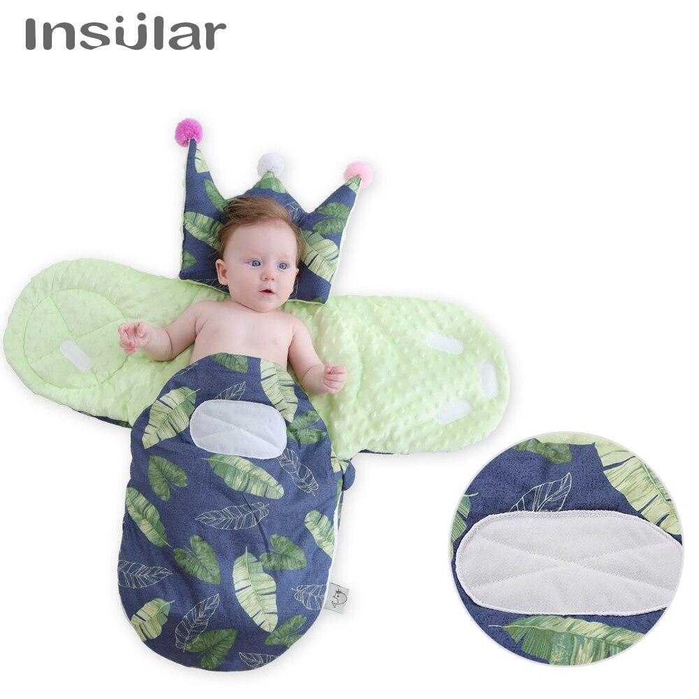 0-6 Monate Winter Umschlag Baby Schlafsack Wrap Swaddling Decke Umschlag In Einem Kinderwagen Schlafsack Für Neugeborene Im Sommer KüHl Und Im Winter Warm