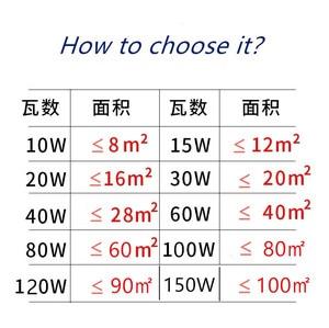 Image 4 - E27 B22 E40 E14 LED lamba AC 220V ampul LED 5W ~ 150W 5730 2835SMD mısır ampul enerji tasarruflu lamba ev dekorasyon için ışık