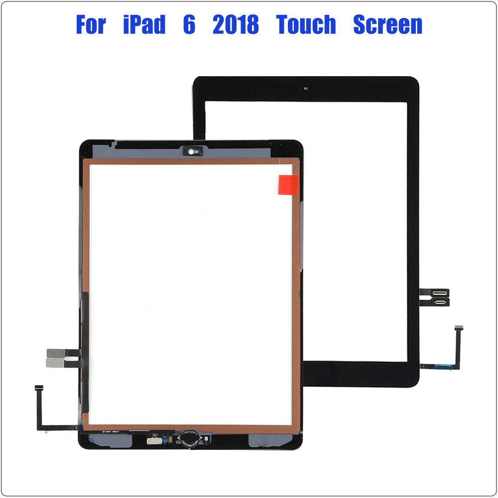 LCD Touch Screen Digitizer Glass Black White A1893 A1954 iPad 6th Gen 2018 Ver