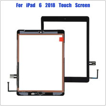 for iPad 9.7 (2018 Version) Touch Screen for iPad 6 6th Gen A1893 A1954 Digitizer Front Glass Replacement With Home Button