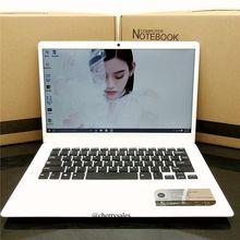 14 дюймов ноутбук 4 г Оперативная память 64 г Встроенная память Intel Atom X5-Z8350 Windows10 8000 мАч Батарея Bluetooth Mini HDMI WI-FI системы Тетрадь компьютер