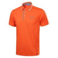 Nieuwe collectie mannen golf t-shirt korte mouw zomer sport stof golf training apparel top kleding 4 kleuren S ~ XXXL golf shirts
