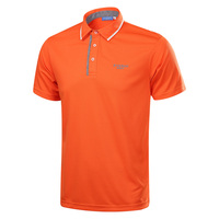 New Arrival Men Golf T Shirt Short Sleeve Summer Sports Fabric Golf Training Apparel Top Clothes