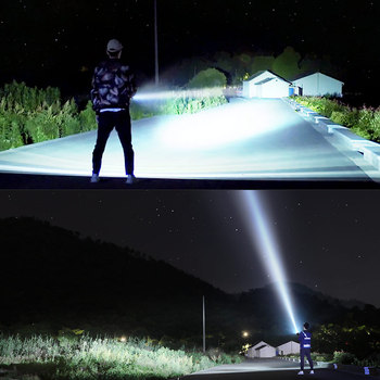 Super Powerful LED Flashlight L2 XHP50 Tactical Torch USB Rechargeable Linterna Waterproof Lamp Ultra Bright Lantern Camping 3