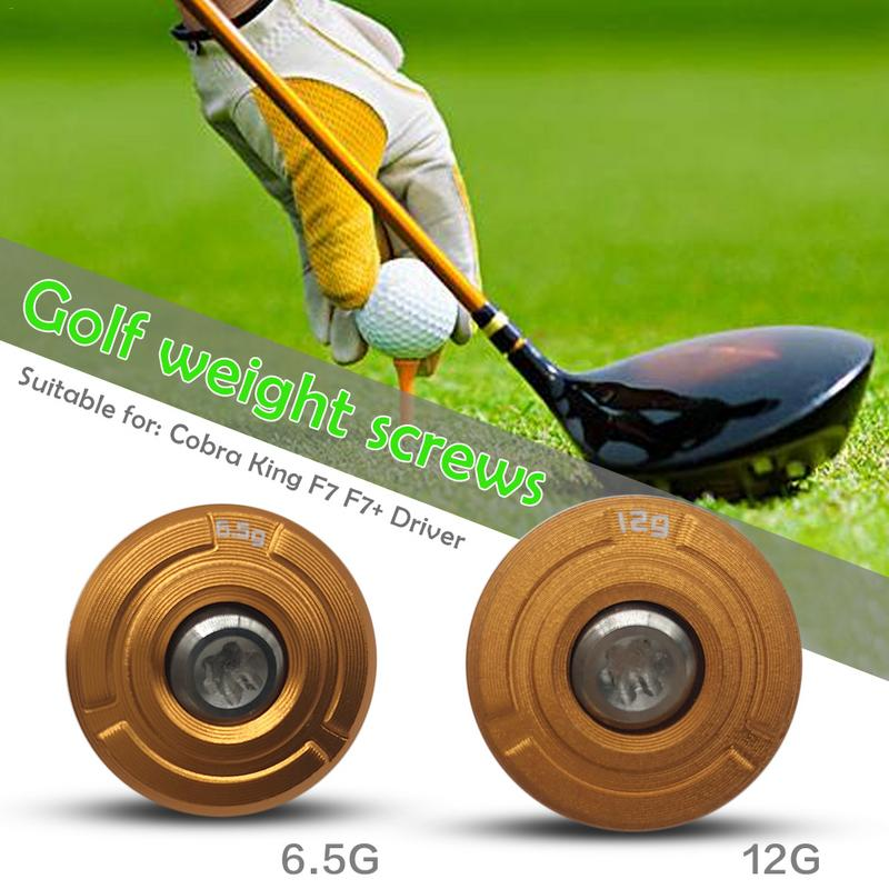 separation shoes 04e0f c76ad Golf Weight For Cobra King F7 F7+ Driver Head Gravity (CG) Settings 6.5g