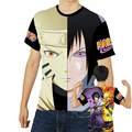 2017 Men clothing Naruto 3d Printed t shirt High Quality O Neck t shirt men Tops Comfortable clothing Sleeve anime