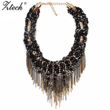 Ztech 2016 Good Quality New style Fashion Vintage Unique collar pendant Chunky Necklace Statement Jewelry for Women necklace