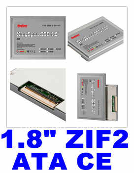 Sale Kingspec 1.8 ssd ATA7 ZIF 2 CE hd SSD 128GB 128 Solid State Drive SSD 120GB Hard Drive For SONY For DELL For HP