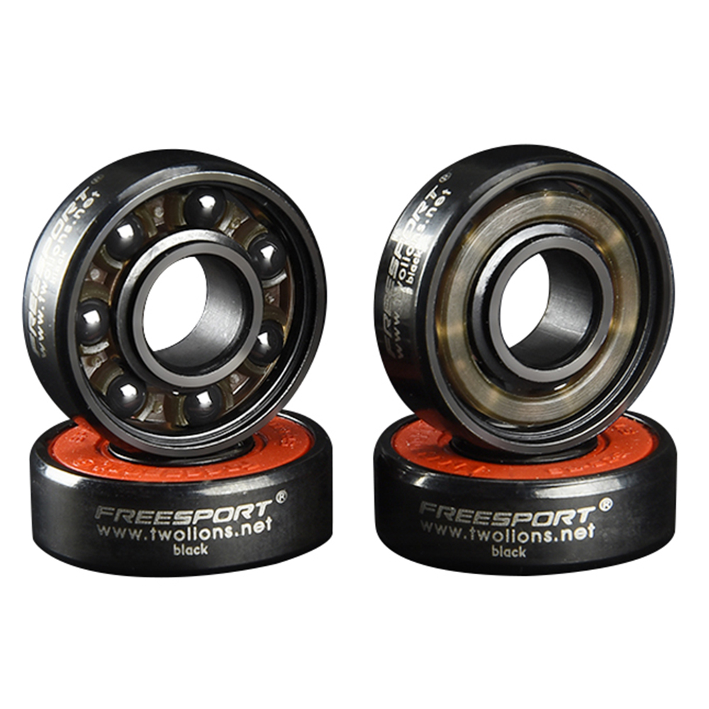 Image 2 - FreeSport 608 Hybrid Black Ceramic Bearings 7 Beads ABEC9 High Rev Rodamientos for Skateboard LongBoard inline Skate HandSpinner-in Scooter Parts & Accessories from Sports & Entertainment
