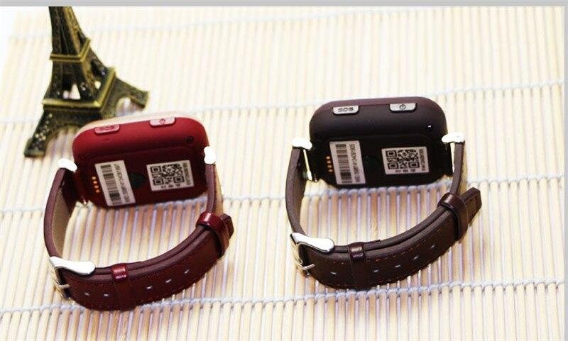 Montre de traqueur de 2019 GPS LBS pour les personnes âgées montre-bracelet d'enfant avec appel SOS montre de surveillance de fréquence cardiaque à distance Anti perdue sûre - 2