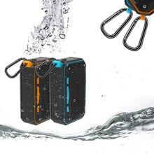 חיצוני נייד עמיד למים Bluetooth רמקולים מובנה 2000 mA סטריאו Hi Fi קופסות תמיכת TF כרטיס רדיו FM מיקרופון אלחוטי רמקול