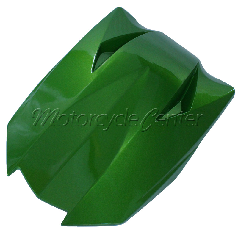 Hot Sale ABS Plastic Motorcycle Rear Seat Cover Cowl For Kawasaki Z1000 Z 1000 Green 2011-2013 hot sale hot sale car seat belts certificate of design patent seat belt for pregnant women care belly belt drive maternity saf