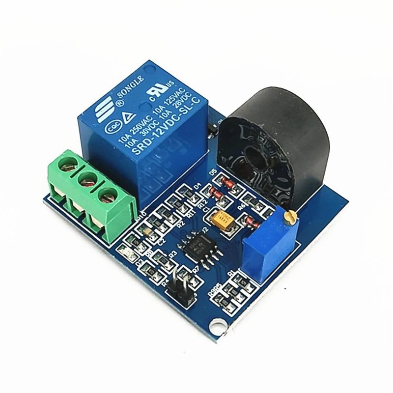 все цены на 12V relay module 5A overcurrent protection sensor module AC current detection sensor For arduino