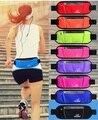 Las mujeres de nylon impermeable ocasional riñoneras unisex buen ajuste del vientre bolsas con bolsa del teléfono móvil hombres multifuncional cintura bolsa