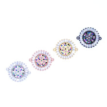 Milky Way Star Pattern Accessories Micro Pave Zircon for Women Bracelets, Necklaces, Anklets, Connectors Findings Jewelry Making