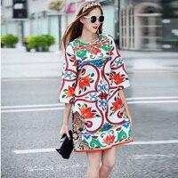 Wysoka jakość moda jesień projekt drukuje mody płaszcz nowy kobiety Trzy Czwarte rękaw Loose Casual Kryształowe Diamenty płaszcz