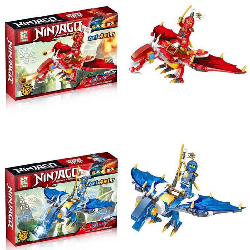 Ninjagoes Dragon Building Block Kai Jay Cole Zane Lloyd Wu Nya Garmadon Ninja Toys Compatible With Legoingly Ninjagoesd 2018 hot ninjago building blocks toys compatible legoingly ninja master wu nya mini bricks figures for kids gifts free shipping