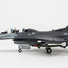 1/72 масштаб США общая динамика F-16 боев Сокол воздуха превосходство боец литой металлический самолет модель игрушки для подарка/коллекции