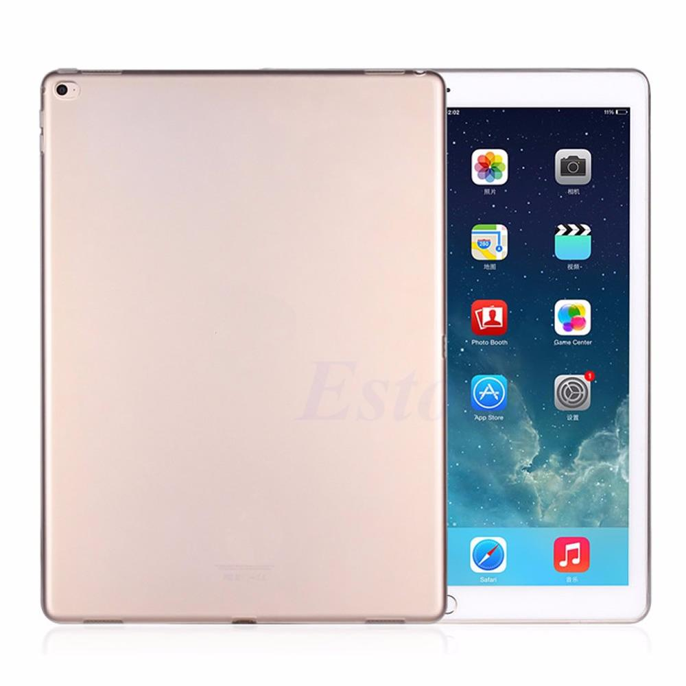 Tablet Rear Shell Ultra Thin Soft Crystal Clear Transparent Shell Tablet Accessories Gel Skin TPU Case Cover For iPad Pro Tablet soft silicon tpu case for apple ipad pro 9 7 back cover tablet ultra thin clear transparent fundas protective bags skin shell