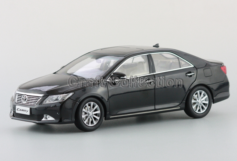 ФОТО Special Offer! Black Toyota Camry 1:18 7th Generation Diecast Toy  Metal Miniature Model Car Kits